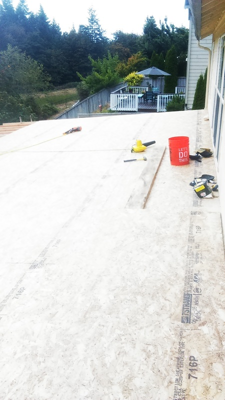 Eden Concrete Construction adding a roof over the patio to create an outdoor  living room  Enjoy the outdoors all year  round with your addition from Eden   Eden Concrete Construction   Home. Eden Outdoor Living Round Rock. Home Design Ideas